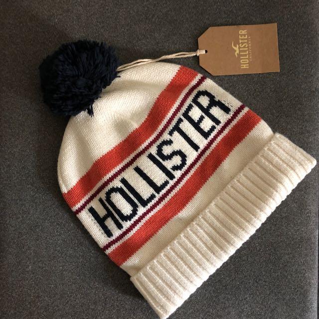 Hollister毛帽