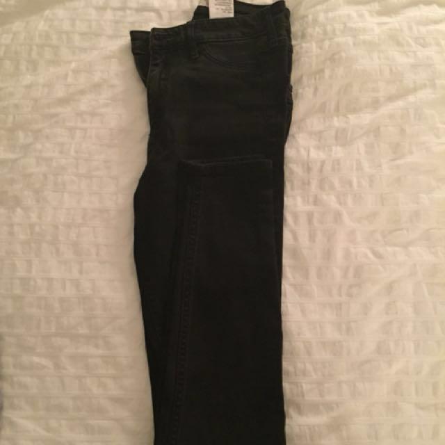 Hollister Black Jeans Size O-R