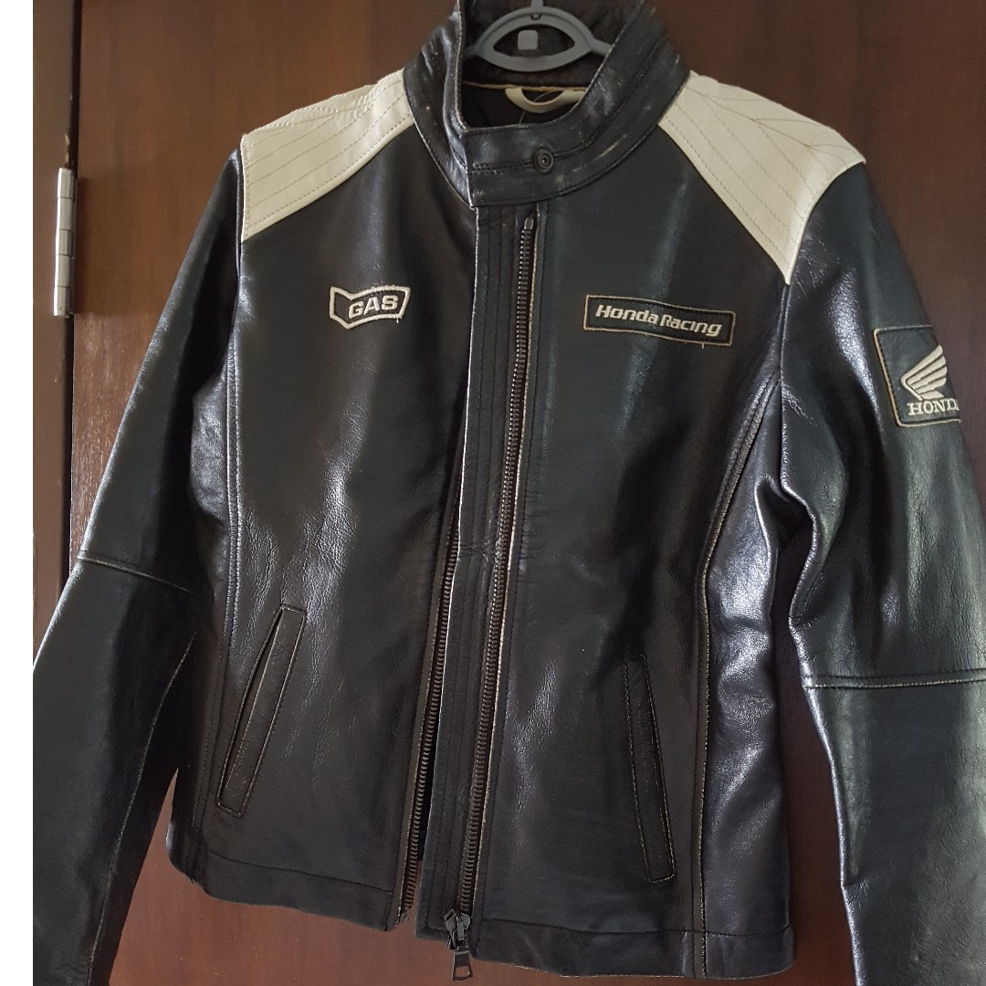 outlet on sale modern and elegant in fashion discount coupon Honda Gas Jeans leather Jacket, Motorbikes, Motorbike ...
