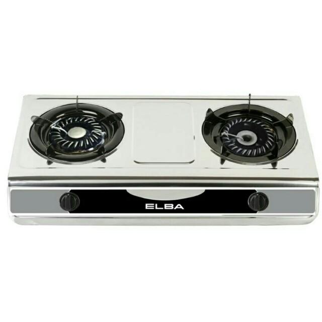 🔥Hot Sale!!🔥Elba Double Burner Cooker EGS-F7112