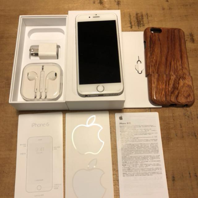 Iphone6 128g銀色