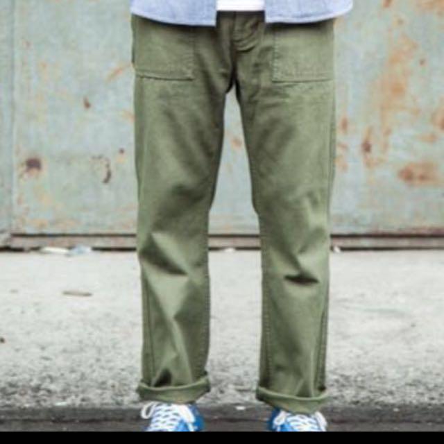 Jkshop直筒軍褲