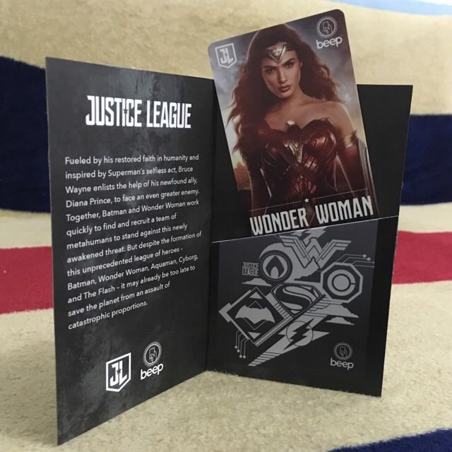 Justice League Limited Edition Beep Cards (Wonder Woman)