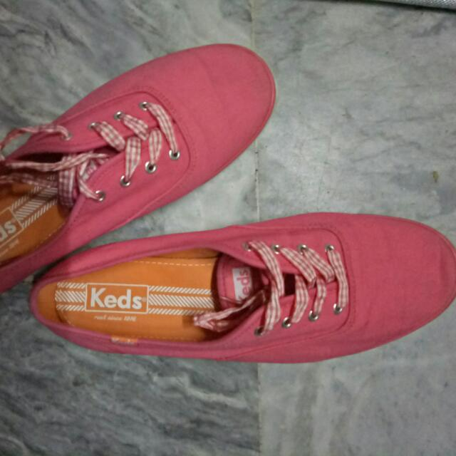 KEDS Original - Peach/Pink