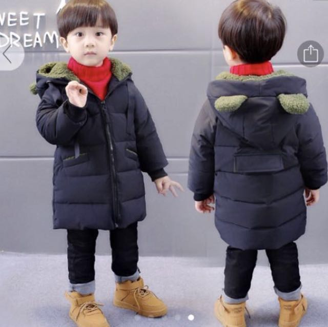 2064eb084 Kids  baby boy Winter Jacket
