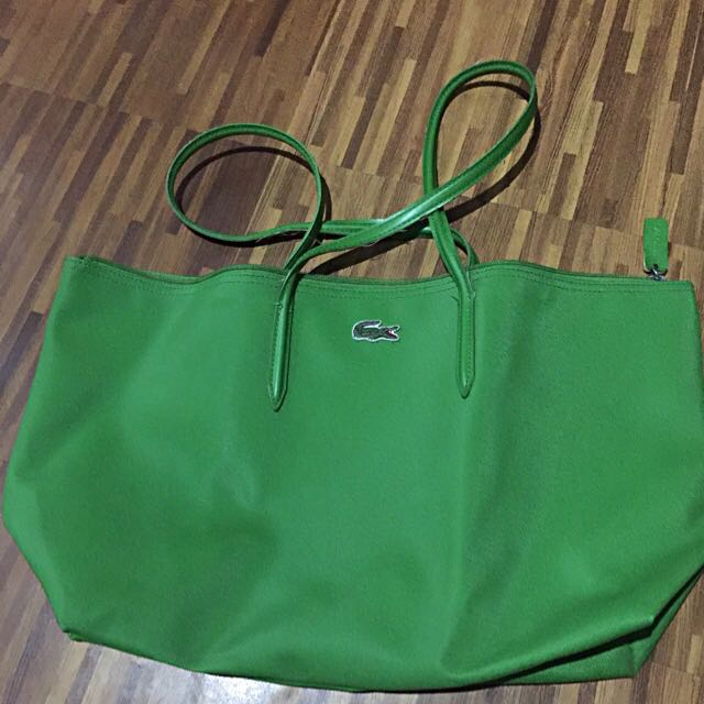 Lacoste Horizontal Tote Bag