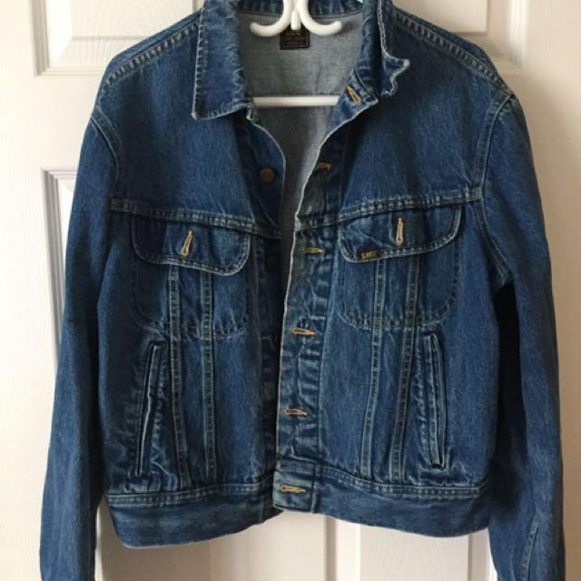 Lee Vintage Oversized Denim Jacket