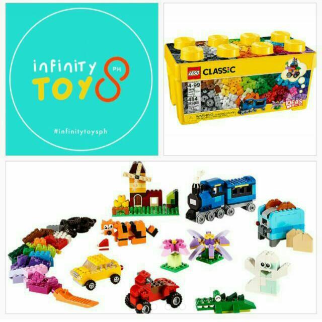 LEGO Classic 10696 Medium Brick Box (484 pcs)