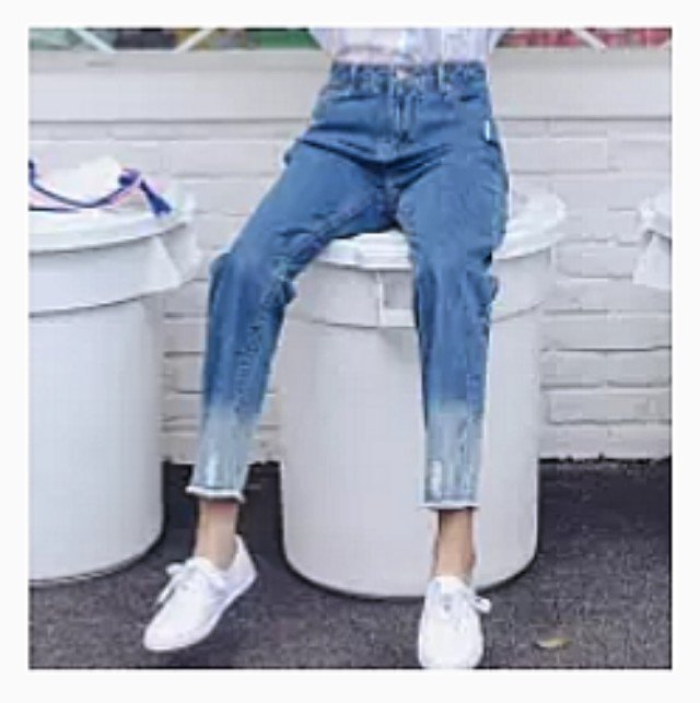 light blue jean