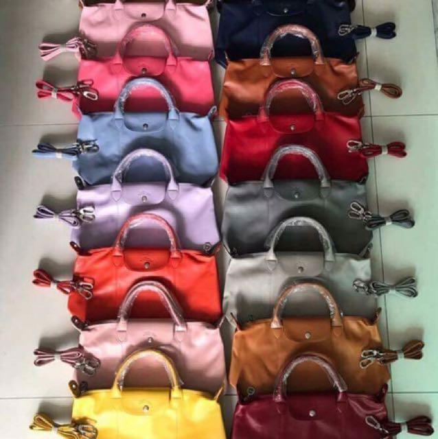 Longchamp Kate Spade Guess Herschel bags