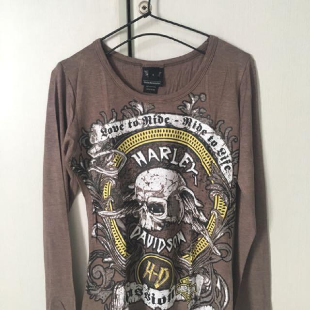 Long-sleeved Harley Davidson Shirt