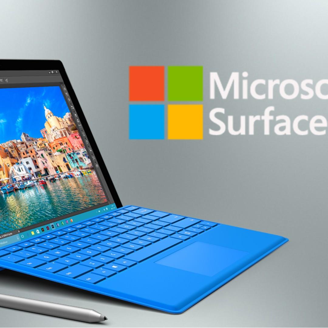 looking for microsoft surface pro 5 256GB, 8GB RAM, Bulletin