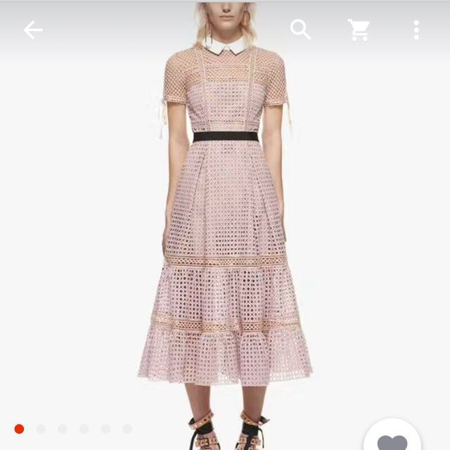 LOOKING FOR: Self Portrait Peter Pan Collar Dress