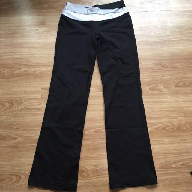 2d7c950efde53 Lululemon groove pants size 6, Sports, Sports Apparel on Carousell