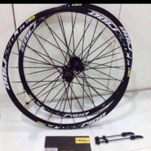 791eeeb2ec5 Mavic Crossride 2016 Wheelset 26/27.5/29, Bicycles & PMDs, Bicycles ...