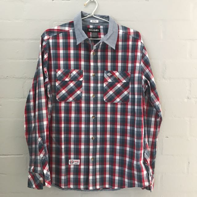 Men's Rocksmith Checkered Shirt size M