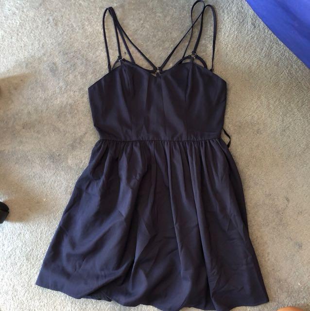 Navy Blue Dress - Size 8