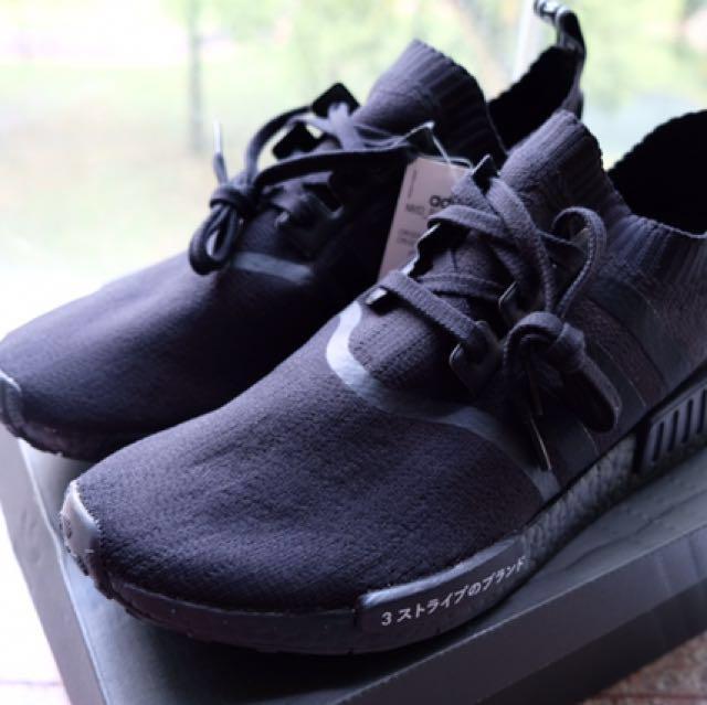7467a73cca1a NEW Original Black Adidas NMD (UK size 12   EU 46)