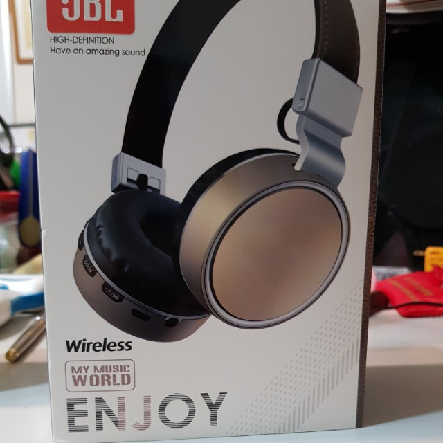 New quality wireless headset with built-in mic