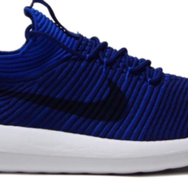 51ec4fc0f73e1 Nike Roshe Run 2 flyknit in royal blue