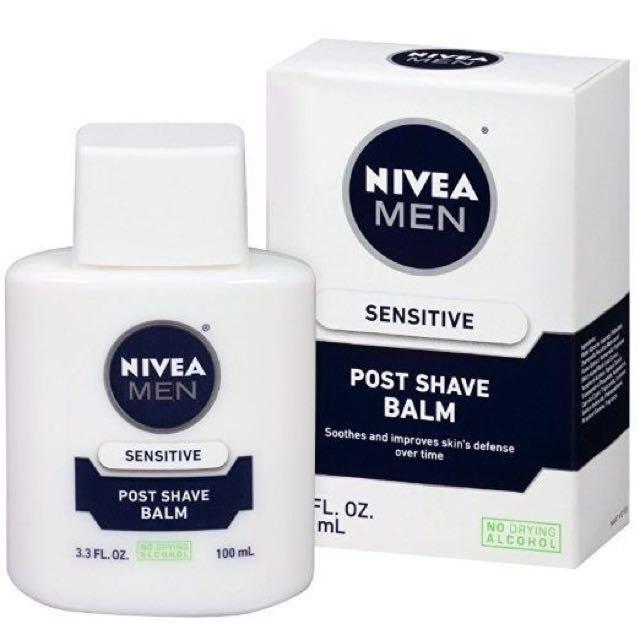 Nivea Men Post Shave Balm (used as a primer)