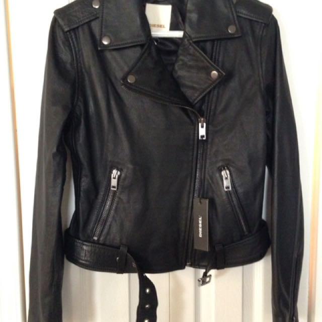 NWT Diesel Motorcycle Jacket