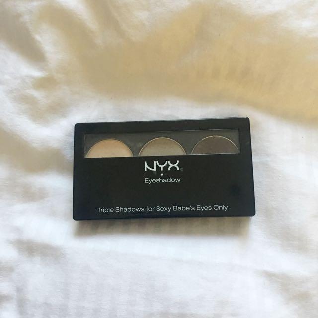 NYX EYESHADOW PALETTE - Brown, 3 Shades