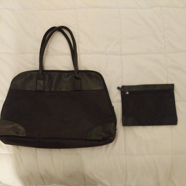 Overnight Travel Tote w/ matching purse