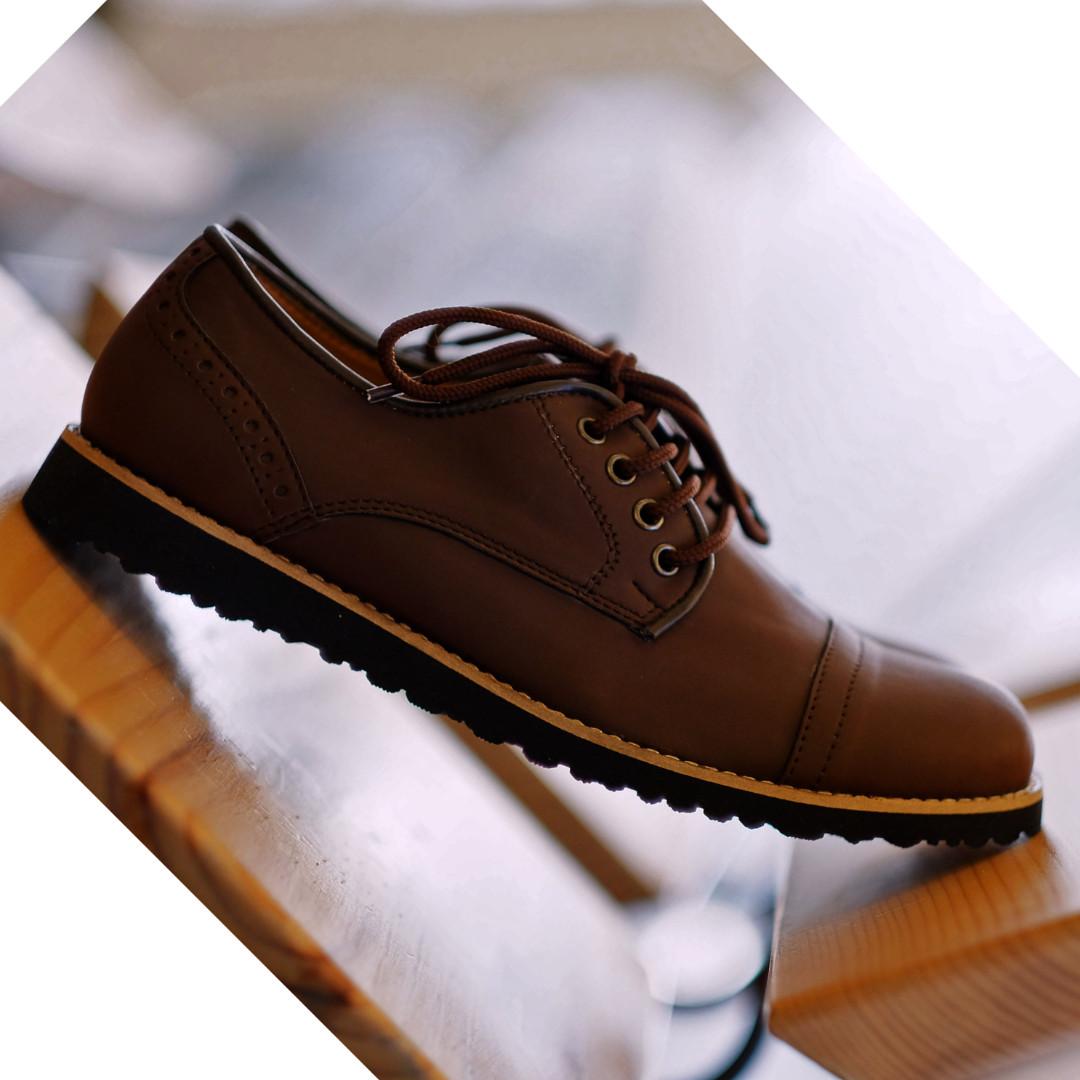 Pedro Dark Brown - Footstep Footwear  7d2bca90ed