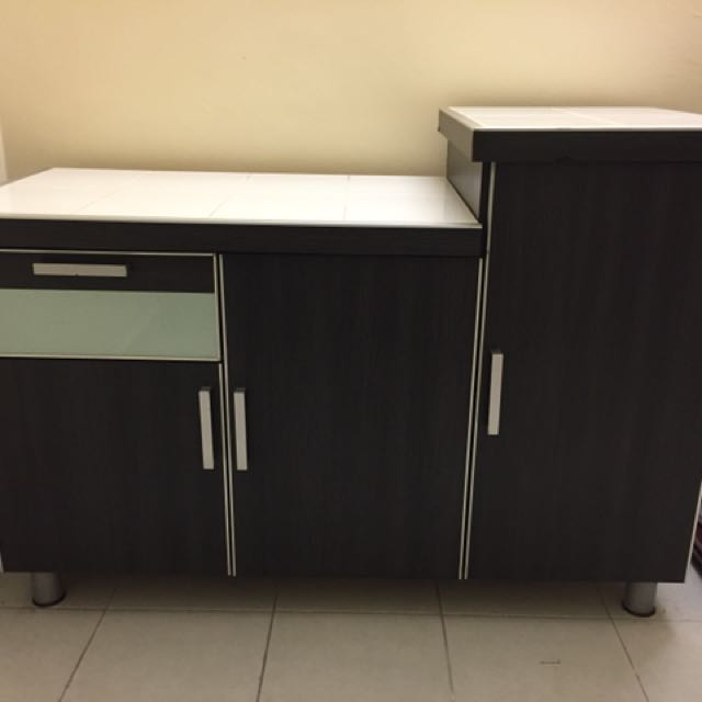Portable Kitchen Cabinet Home Furniture Furniture On Carousell