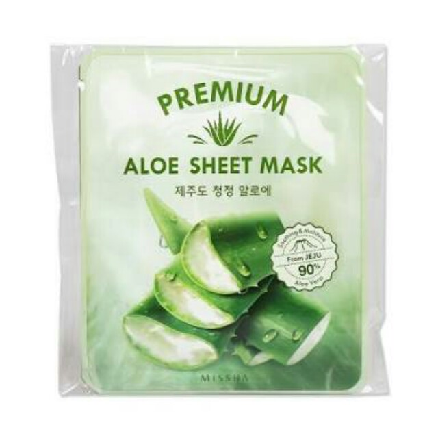 Premium Aloe Sheet Mask