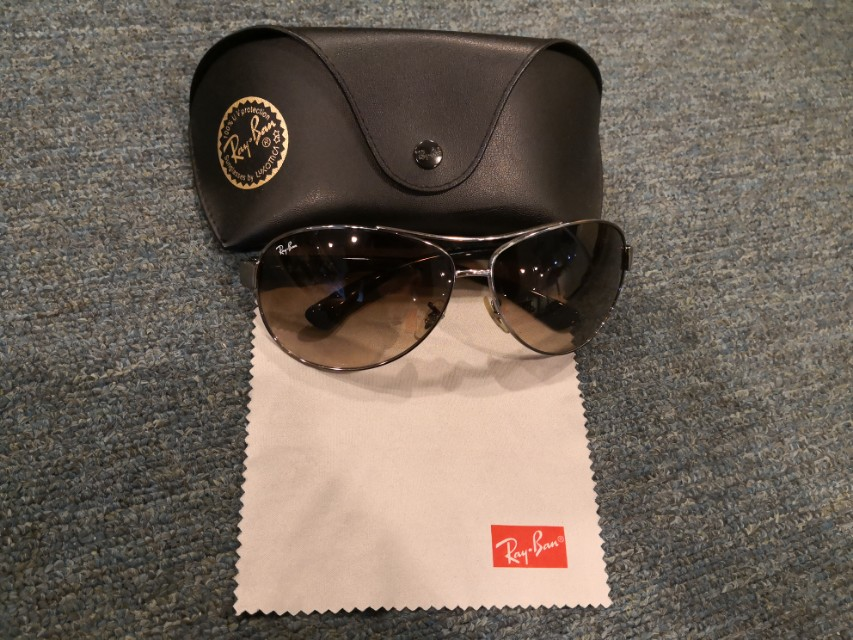 213748d253 Ray Ban Aviator RB3386 004 13 sunglasses Authentic