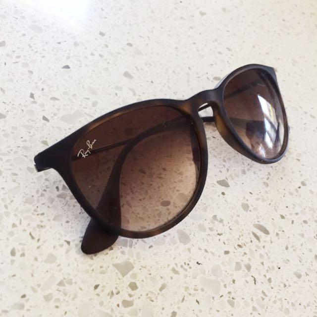 RayBan Erika Tortoiseshell Sunglasses