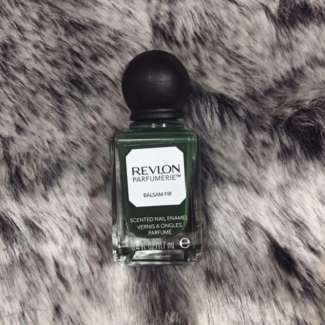 Revlon Forest Green Nail Polish