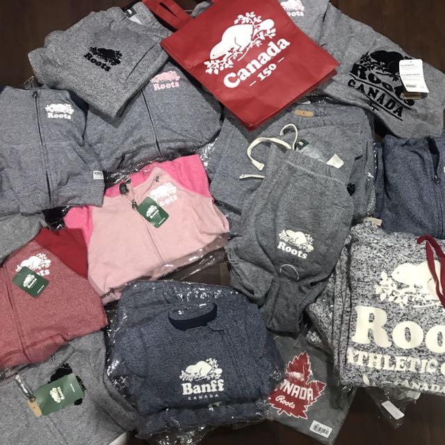 Roots 中童款 大童 嬰兒款