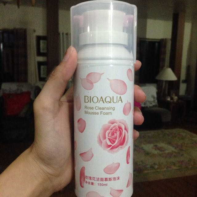 Rose Cleansing Mousse Foam