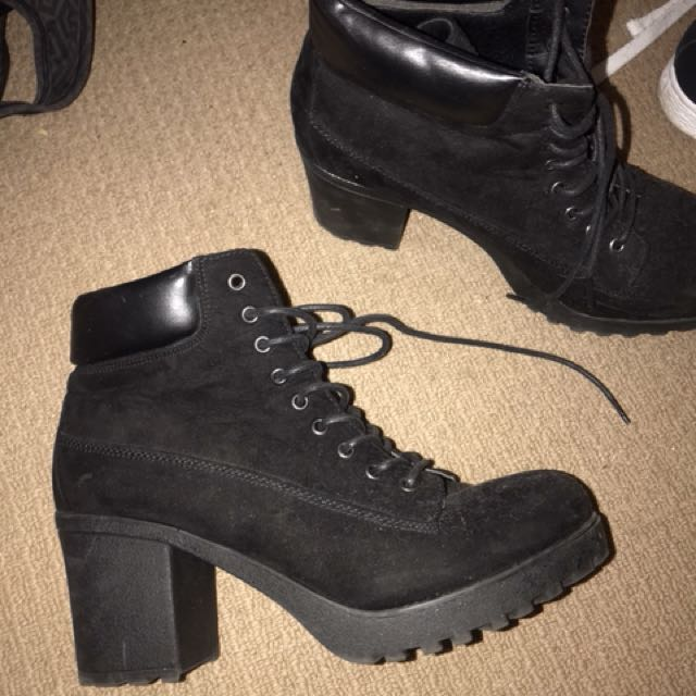 Rubi shoe lace up boot