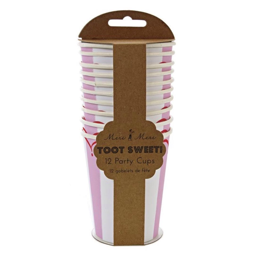 SALE! Toot Sweet Pink Party Cups