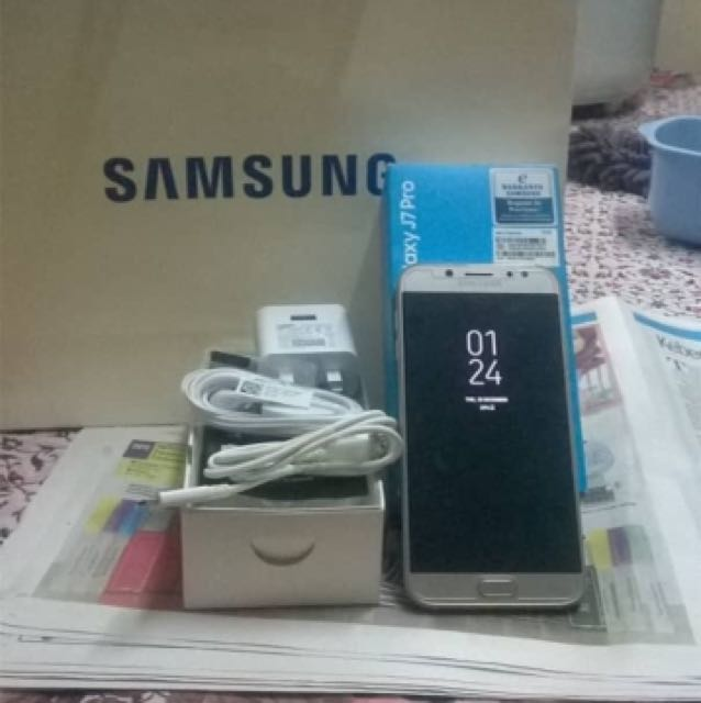 Samsung Galaxy J7pro2Ndbaru 3 Bulan Pakaifull Set Mobile Phones Tablets Android On Carousell