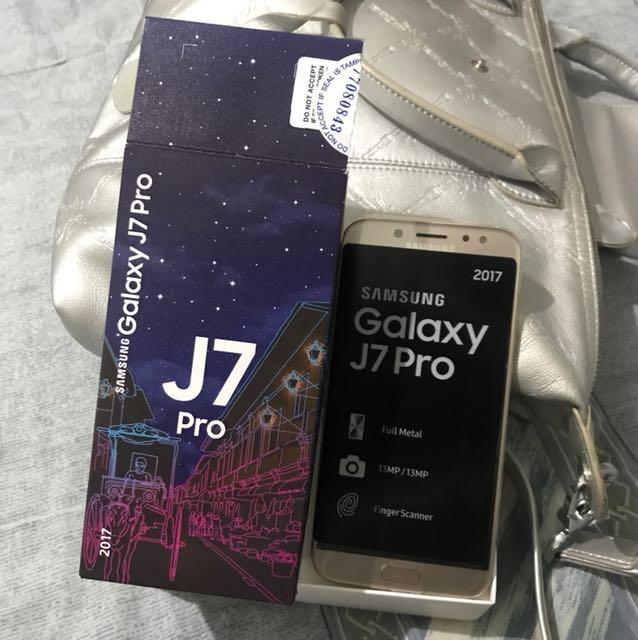Samsung J7 pro - gold 32g