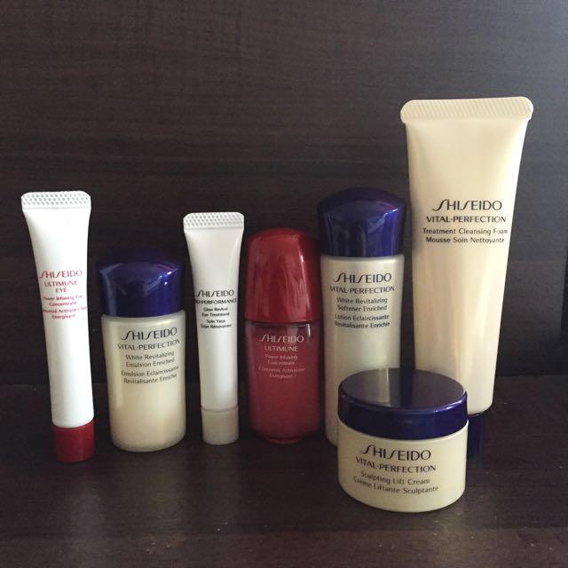 Shiseido Vital Perfection Skin Care