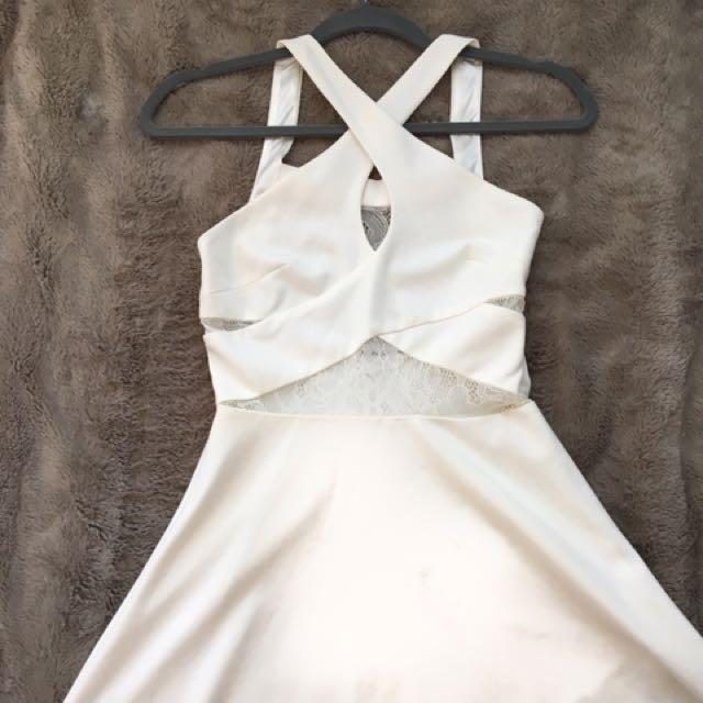 Size 2 White Dress