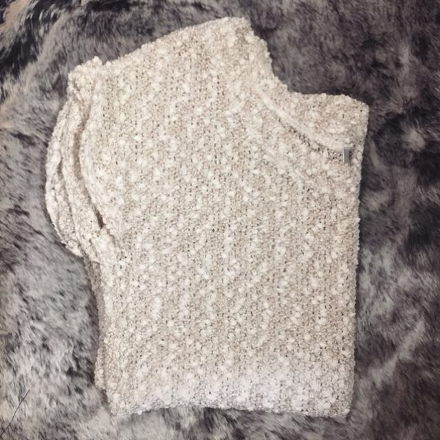 Sparkly Gold Knit