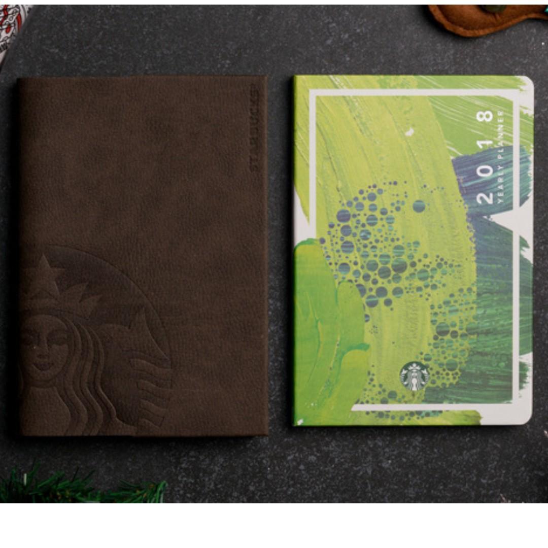 Starbucks Planner 2018 (Big Size)