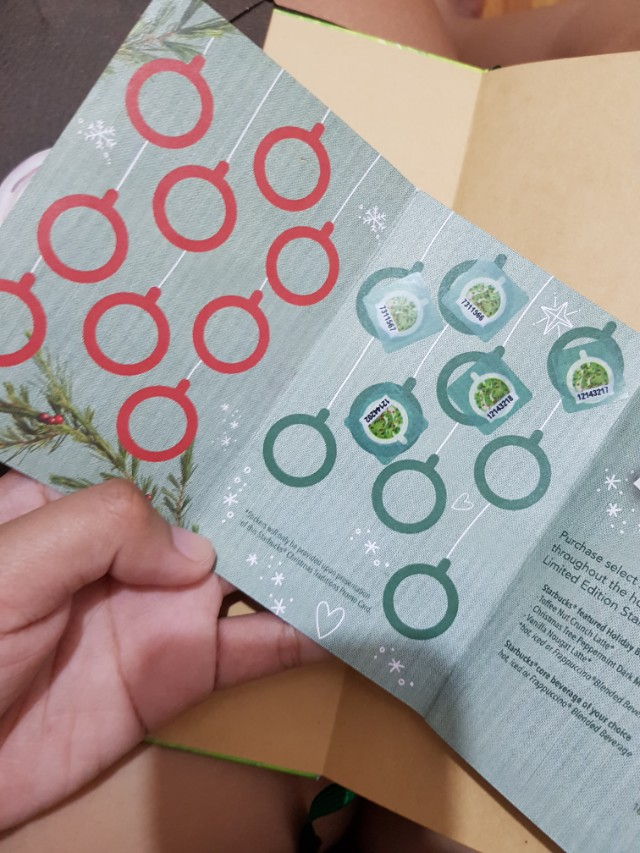Starbucks Stickers for Planner