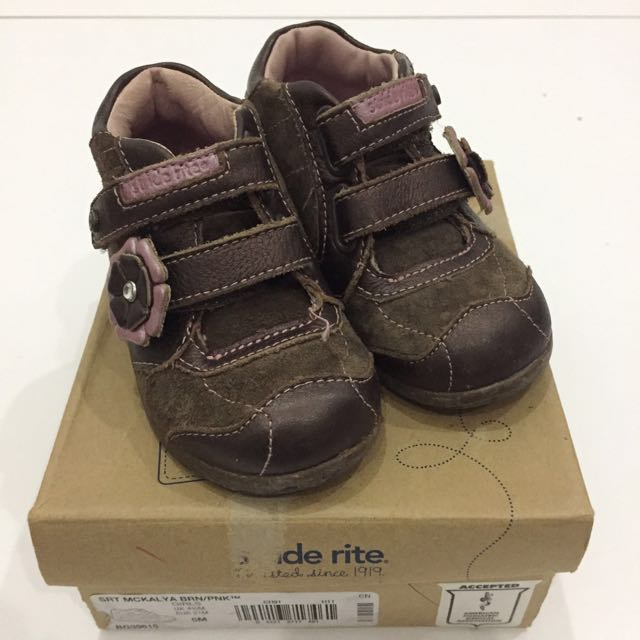 Stride Rite Brown Baby Shoes
