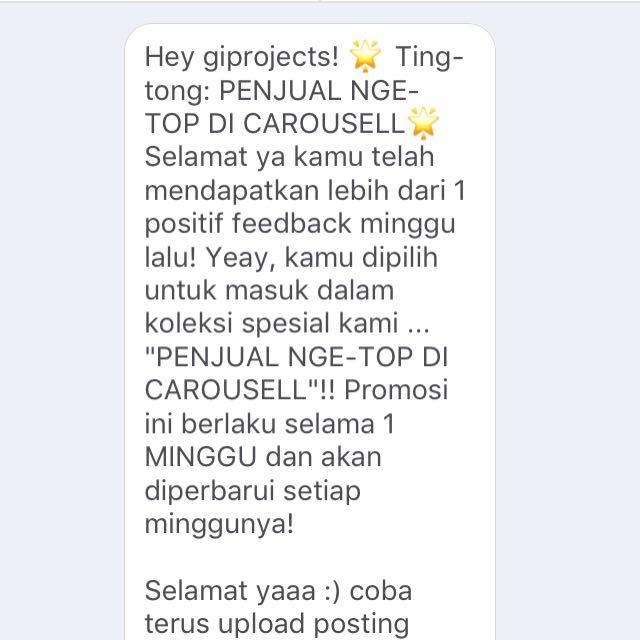 Thankyou Carrousell