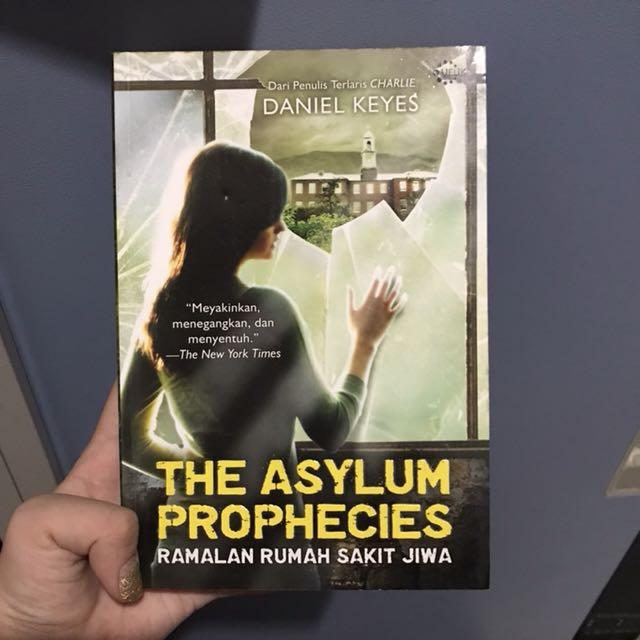 The asylum prophecies novel