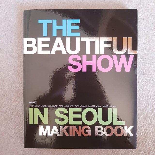 The beautiful show in seoul making book