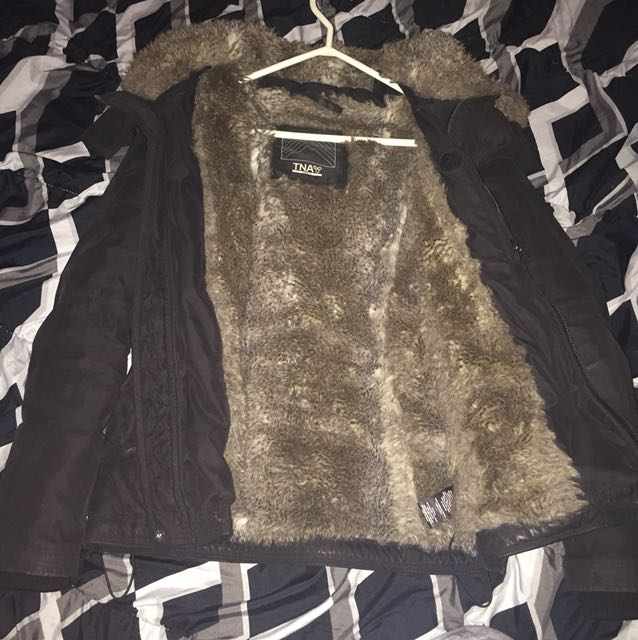 TNA full fur winter jacket
